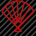 chinese, fan, new, year