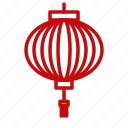 chinese, lantern, new, year icon