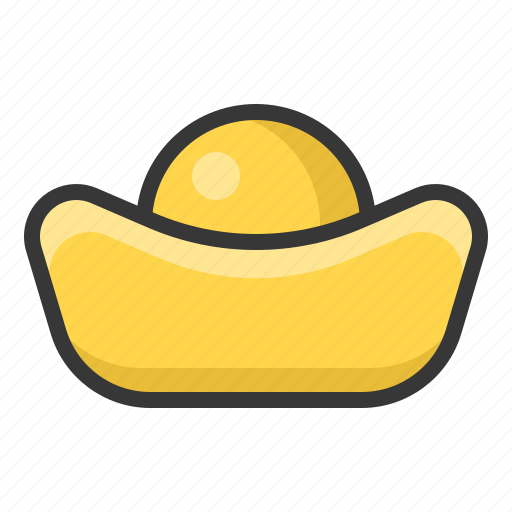 Chinese, gold, money, new year icon - Download on Iconfinder