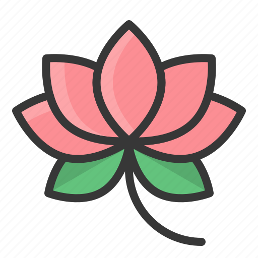 chinese, flower, lotus, new year icon