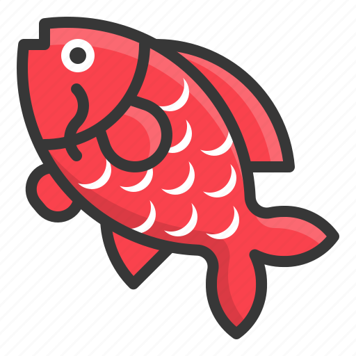carp, chinese, fish, new, year icon
