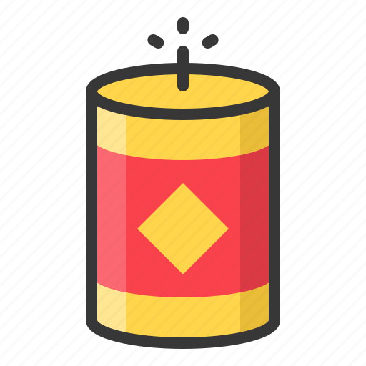 Chinese, firecracker, firework, new, year icon - Download on Iconfinder