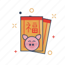 angpao, asia, chinese, culture, envelope, festival, gift icon