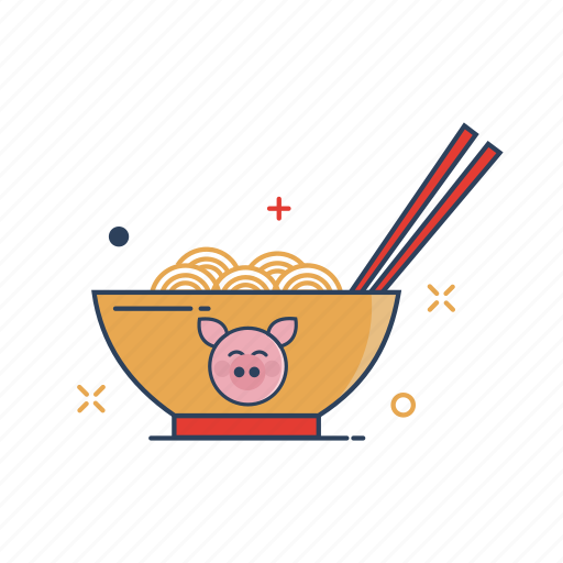 asian, bowl, chinese, food, meal, noodle, noodles icon
