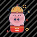 animal, asian, chinese, festival, pig, year, zodiac icon