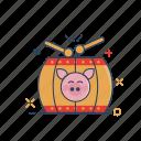 asia, celebration, chinese, instrument, mandarin, tanggu icon