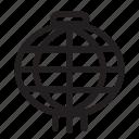 chinese, lampion, new, years icon
