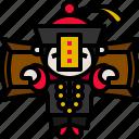 ghost, hopping, jiangshi, vampire, zombie icon