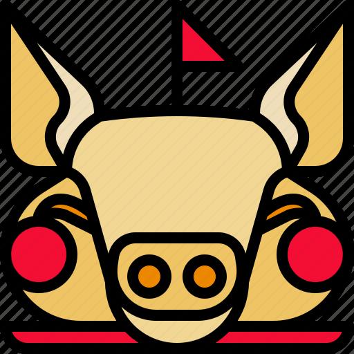 Animal, pighead, pork, pray icon - Download on Iconfinder