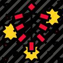 explosion, fire, firecracker, firework icon