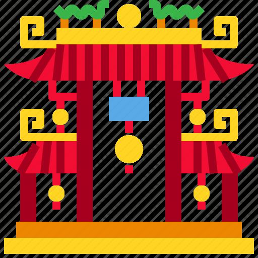 Gate, landmark, shrine, temple icon - Download on Iconfinder