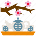 cup, drink, tea, teapot icon