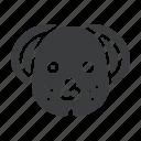 animal, chinese, dog, zodiac icon