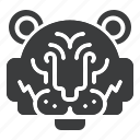 animal, chinese, tiger, zodiac icon
