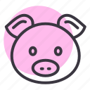 animal, chinese, zodiac, pig