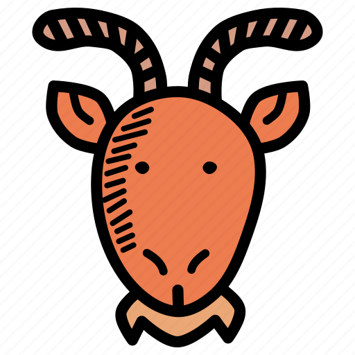 Chinese, goat, ram, zodiac, chinese new year, cny, lunar new year icon - Download on Iconfinder
