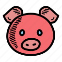 animal, chinese, pig, zodiac, chinese new year, cny, lunar new year