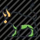 animal, chinese zodiac, horoscope, ox icon