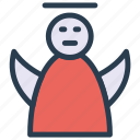 angel, christmas, fairy, heaven icon