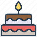 birthday, cake, christmas, party icon