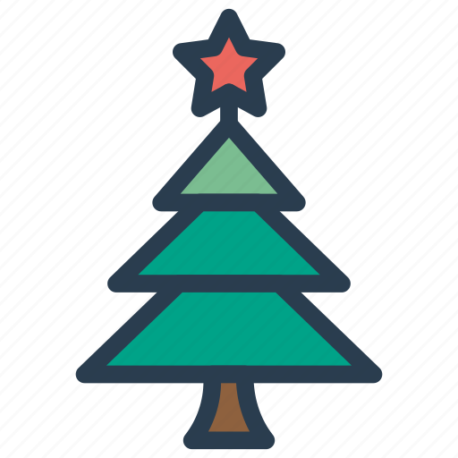 Christmas, garden, nature, tree icon - Download on Iconfinder
