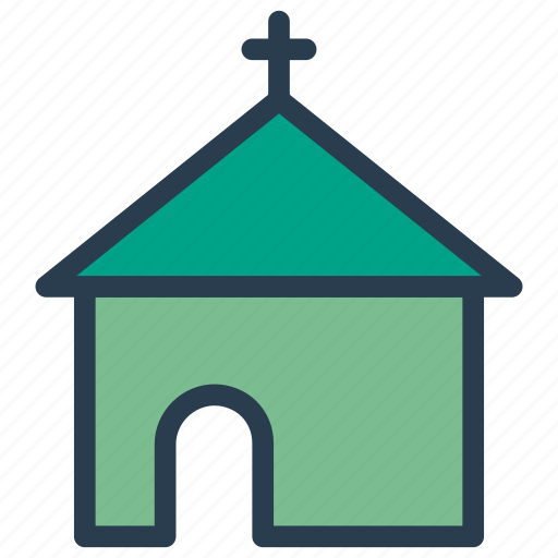 Building, catholic, church, estate icon - Download on Iconfinder