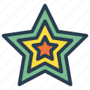 award, decoration, prize, star icon