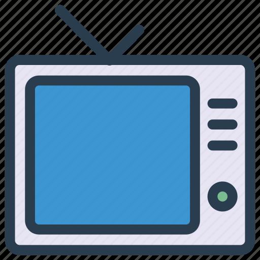 display, entertainment, screen, tv icon