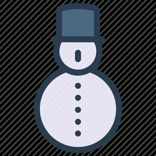 cartoon, christmas, man, snow icon