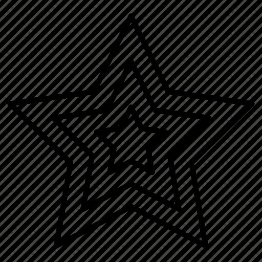 award, decoration, prize, star icon