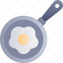 food and drink, egg fried, cooking, frying, pan, breakfast, egg