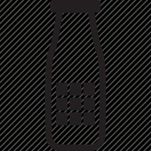 beverage, botlle, drink, milk icon