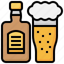 alcohol, beer, drinks, whiskey, beverage