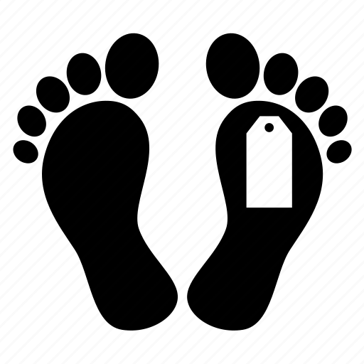 body, cadaver, corpse, dead, feet, morgue, sole icon