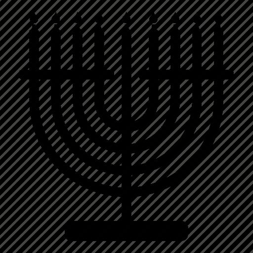 candle, jew, jewish, judaism, menorah, religion, religious icon