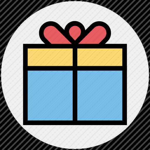 birthday, birthday gift, box, christmas, gift, gift box, present icon