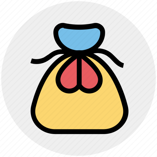 bag, celebration, christmas, gift, gift bag, party icon