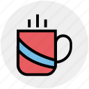 coffee, cup, drink, hot, hot coffee, hot tea, tea icon