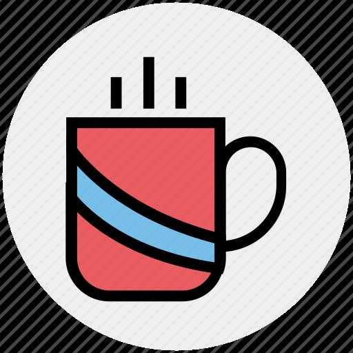 coffee, cup, drink, hot, hot coffee, hot tea, tea icon