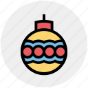 celebration, christmas, festivity, globe, holiday, party icon