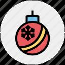 celebration, christmas, decoration, festivity, globe, holiday icon