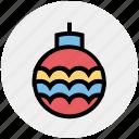 festivity, globe, decoration, party, holiday, celebration
