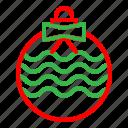 ball, christmas, holiday, lamp, winter