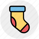 christmas, christmas stocking, holiday, sock, socks icon