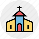 building, celebration, christian, christmas, church, easter icon