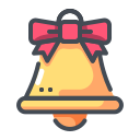 bell, christmas, christmas decoration, jingle bells, xmas icon