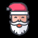 christmas, santa, santa face, santaclaus icon