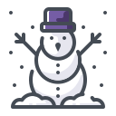 christmas, christmas decoration, snow, snowman, xmas icon