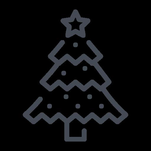 christmas decoration, christmas tree, decorated tree, pine tree, xmas icon