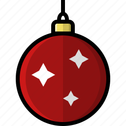 ball, bauble, christmas, decoration, holidays, ornament, winter icon